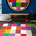Damiers des couleurs
