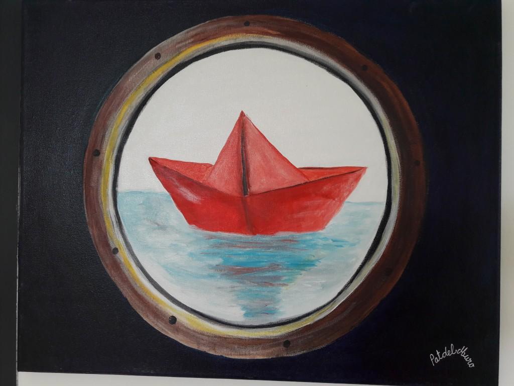 Tableau petits bateaux