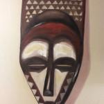 Nature morte - Masque rapporté du Congo - PatdelMuro