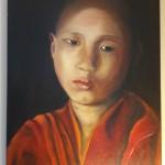 Enfant Tibétain - d'après livre Himalaya