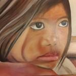 Jeune fille - photo de mon ami Patrik Roux - Cambodge