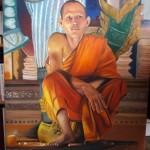 Moine - photo de mon ami Patrik Roux - Cambodge